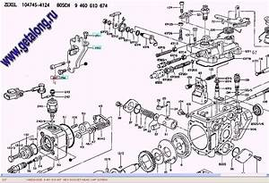 Zexel Fuel Injection Pump Parts Diagram