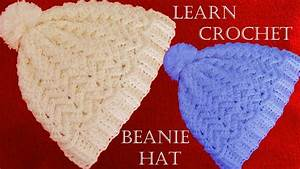 Como tejer gorro con relieve a Crochet o ganchillo - Learn ...