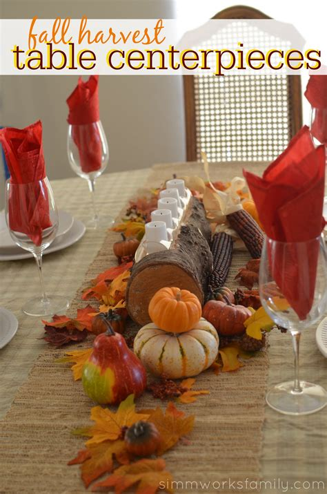 Fall Harvest Table Centerpieces