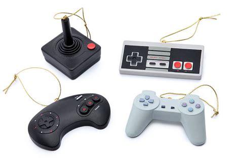 Classic Video Game Controller Ornament Set Thinkgeek