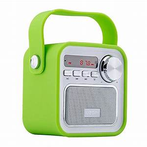 Enceinte Radio Bluetooth : enceinte bluetooth radio portable haut parleur bluetooth ~ Melissatoandfro.com Idées de Décoration