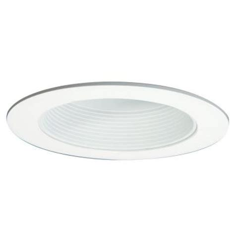 home depot recessed lighting trim halo 6 in white baffle trim with solite regressed lens