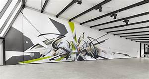 DAIM s 3D Graffiti Displayed On Street and Museum Walls Scene360