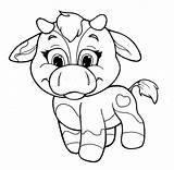 Coloring Cow Cows Vacas Drawings Heart Riscos Dibujos Parte Popular Graciosos Template sketch template