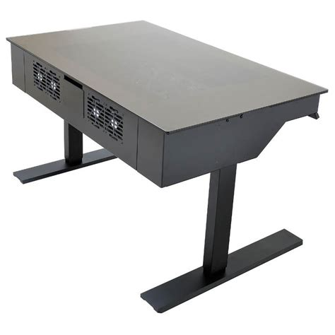 Lian Li Computer Desk Australia by Lian Li Dk 04 X Aluminium Desk Chassis Ebay
