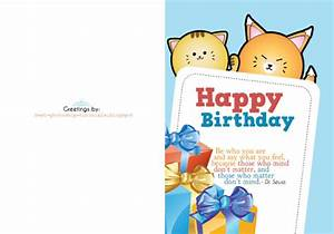 7 Best Images of Printable Foldable Birthday Cards Wife ...