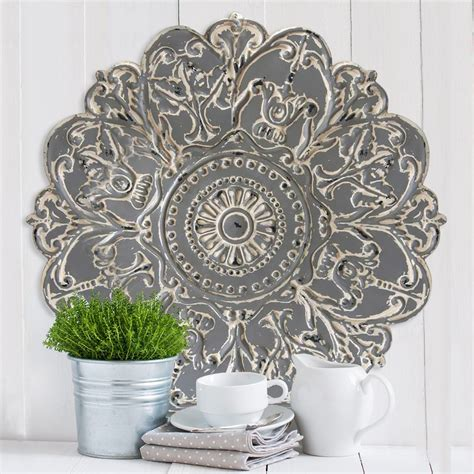 Customer satisfaction is incredibly important to us at stratton home decor. Grey Medallion Wall Décor - Stratton Home Decor