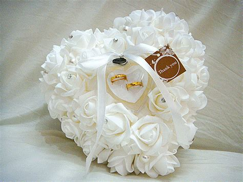 wedding favors ring pillow with transprent ring box 5