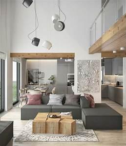 Deco Salon Moderne : 1001 id es fantastiques pour la d co de votre salon moderne ~ Teatrodelosmanantiales.com Idées de Décoration