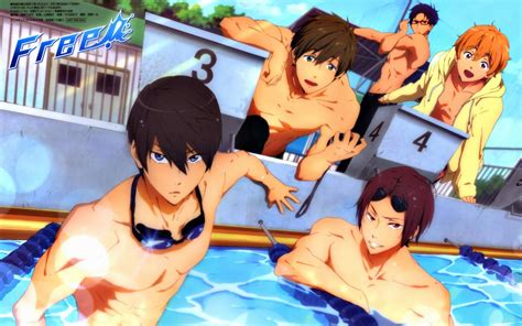 Wallpaper Anime Free - free iwatobi swim club