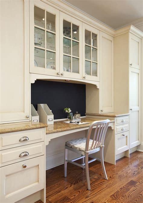 Built In Kitchen Desk   Transitional   kitchen   Nest