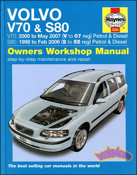 volvo shop manual haynes service repair book