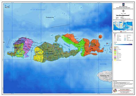peta pembagian daerah administrasi provinsi nusa tenggara