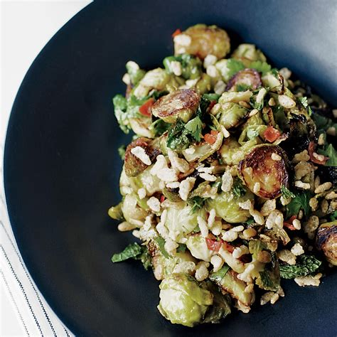 david cuisine spicy brussels sprouts with mint recipe david chang
