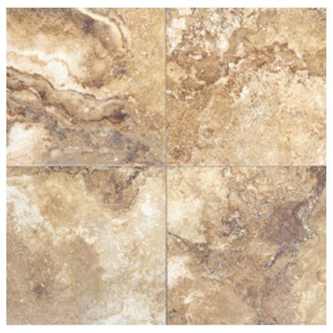 noce ceramic tile shop interceramic travertino royal 10 pack noce ceramic floor tile common 16 in x 16 in