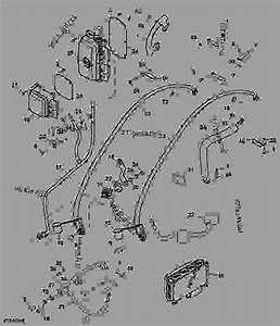 John Deere S670 Wiring Harnes