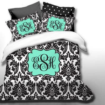 shop monogrammed chevron bedding on wanelo
