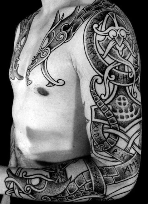 80 Rune Tattoos For Men - Germanic Lettering Design Ideas