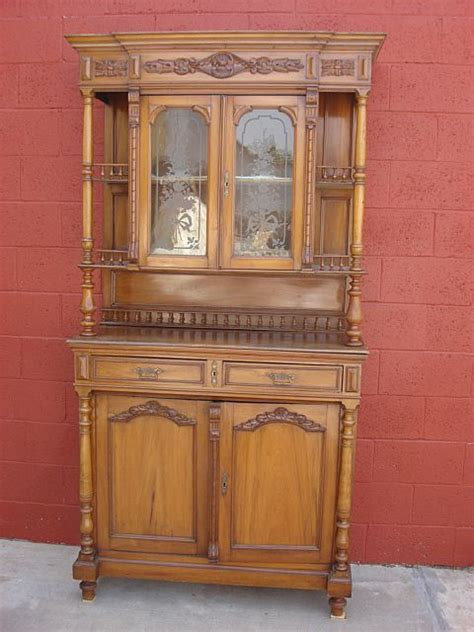 Antique Kitchen Hutch Cupboard by Antique Furniture Antique Cherry Wood Hutch Cabinet