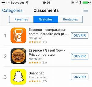 Application Station Essence : p nurie de carburants les comparateurs de stations essence trustent l 39 app store igeneration ~ Medecine-chirurgie-esthetiques.com Avis de Voitures