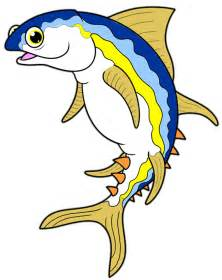 Cartoon Tuna Fish