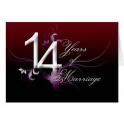14 ans de mariage anniversaire 14 ans cartes invitations photocartes et faire part anniversaire 14 ans