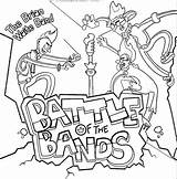 Waite Brian Band Coloring sketch template