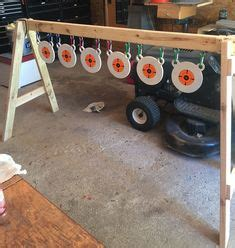 homemade gun cleaning stand plans projects  guns firearms shooting bench