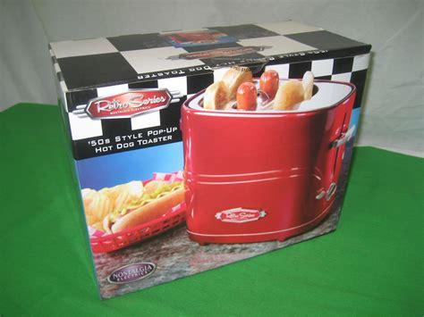 Nostalgia Electrics 50's Style Pop-up Hot Dog Toaster