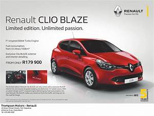 P10428 Renault Clio BLAZE Dealer Press eHowzit