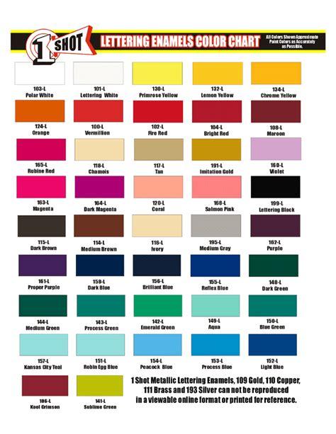 1 shot color palette hľadať googlom pinstriping