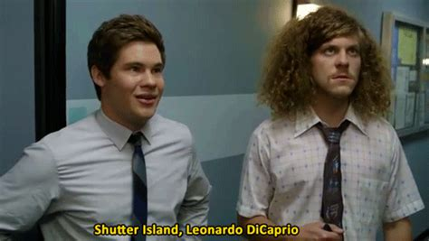 Shutter Island Meme - photoset gif leonardo dicaprio workaholics adam devine anders holm blake anderson shutter