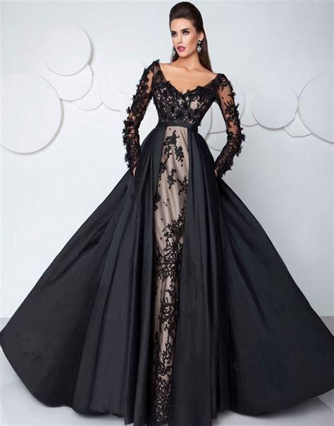 fashion prom dress party gown saudi arabia sexy black