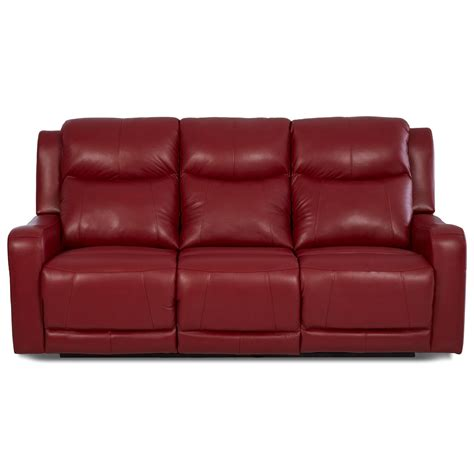 power reclining sofa with usb ports klaussner barnett lv74803 6 pwrs power reclining sofa with