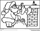 Coloring Santa Colouring Truth Sojourner Chimneys Fireplace Colour Parade Area Printable Sleigh Gingerbread Hamilton Getcolorings Imagine sketch template