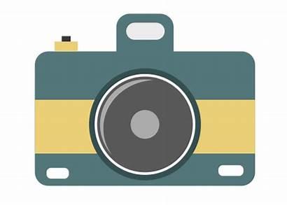 Camera Clip Clipart Cameras Cliparts Icon Strap