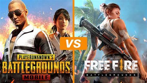 pubg mobile ou  fire battlegrounds veja  melhor