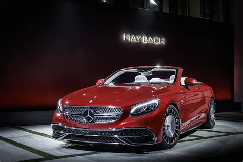 maybach mercedes mercedes maybach s650 cabriolet photos features