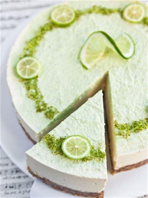 cheesecake au citron vert sans cuisson recette cheesecake