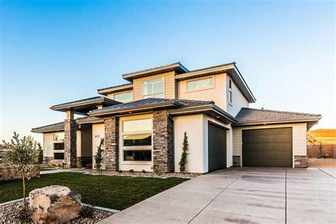 modern prairie style house plans the s bluff house plan a prairie style exterior
