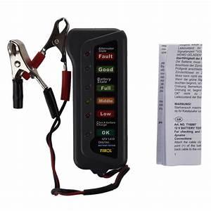 Led Licht Batterie : tirol 12v auto digitale batterie generator tester mit 6 led licht anzeige b2v3 ebay ~ Watch28wear.com Haus und Dekorationen