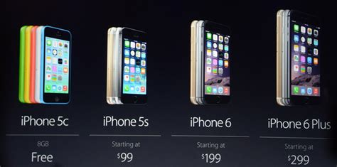 cost of a iphone 6 iphone price of iphone 6 plus