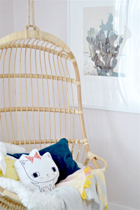 orc girls room  hanging chair   fall  week  house updated
