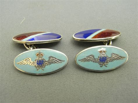 Raf Silver And Enamel Cufflinks Antique Aircraft Restoration Calgary Staircase Parts Childs Roll Top Desk 3 Legged Birthing Chair Violins Uk Military Antiques Sydney How To Paint Wood Look White Finials