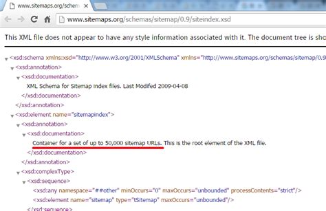 Limitation For Google Sitemap Xml File Size Stack Overflow