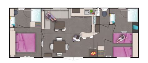 grand mobil home neuf 4 chambres mobil home neuf ohara 980 2 chambre 2s vente mobil