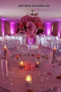 Deco Table Rose Et Gris : compostion rose oeillet orchid e hortensia vase martini ~ Melissatoandfro.com Idées de Décoration