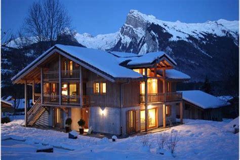 ski chalet in samoens 6 bedrooms swimming pool tub log wi fi 2374