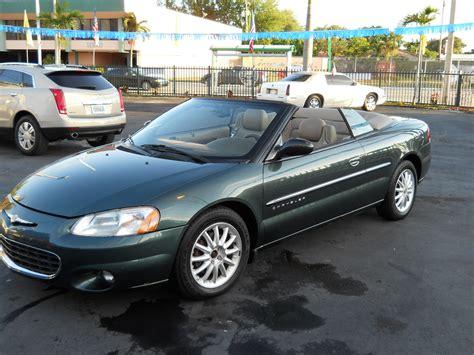 Chrysler 2001 Sebring 2001 chrysler sebring information and photos momentcar