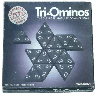 tri ominos  classic triangular domino game